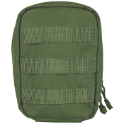 OLIVE DRAB OD Green First Aid Medical Kit Molle Pouch