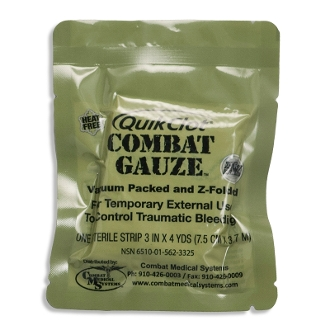 MultiCam Trauma Kit Combat Gauze