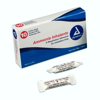 Ammonia Inhalants (Ampule) Box 10