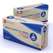 Blue Nitrile Exam Gloves Small Non-Sterile 100/BX