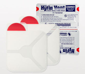 HyFin Vent Compact Chest Seal Twin Pack