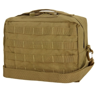 TAN Utility Shoulder Bag