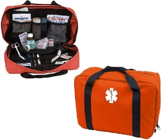 Orange EMS Trauma Bag