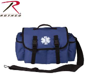 Blue Medical Rescue Response Bag
