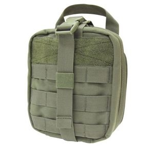 OD Green Rip-Away First Aid Pouch  Large Molle