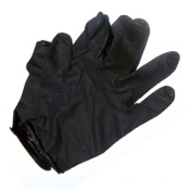 Black Nitrile Gloves - Size Large - 3 pair