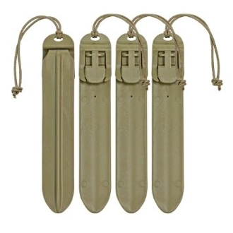 "5"" MOLLE STICKS (4-Pack) Tan"