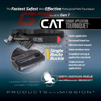 GEN 7 Combat Application Tourniquet (C-A-T) - Tactical Black