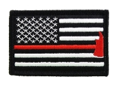 Firefighter Axe US Flag Thin Red Line
