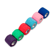 Sensi-Wrap Self-Adherent Bandage Rolls Rainbow (6/color)