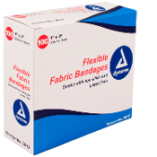"Adhesive Fabric Bandages Sterile - 1"" x 3"""