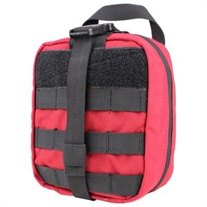 Red Rip-Away First Aid Pouch Large Molle