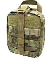 MultiCam Rip-Away First Aid Pouch  Large Molle